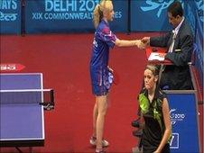 Alice Loveridge at the Delhi 2010 Commonwealth Games