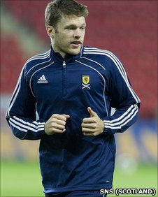 Jamie Mackie will make his Scotland debut on Friday