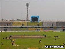 The Shere-e-Bangla National Stadium in Mirpur