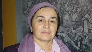 Lipkhan Bazaeva, head of the Women's Dignity centre in Grozny