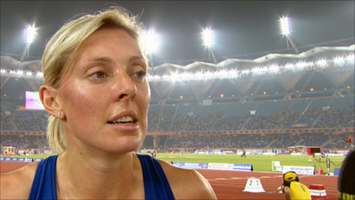 Scottish athlete Lee McConnell