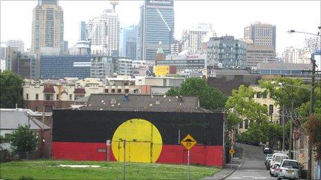 The Block in Redfern, Sydney