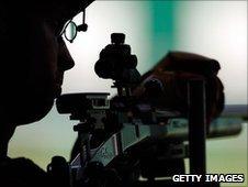 Scotland's Neil Stirton in action in Delhi