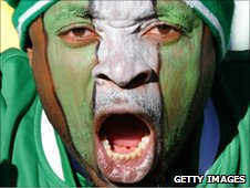 A Super Eagles fan