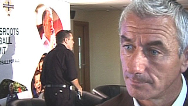 Former Liverpool striker Ian Rush