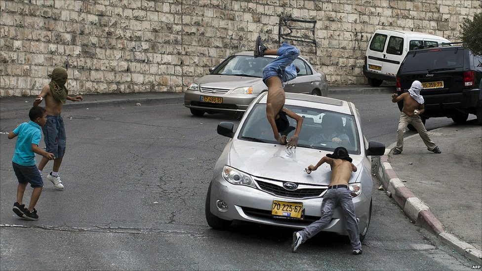 When Cars Become Weapons Settlers Deliberately Wound