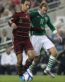 Roman Shirokov and Aiden McGeady