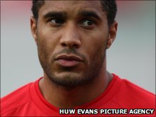 Ashley Williams captained Wales from a midfield holding role
