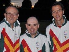 Garry Collins, Gary Pitschou and Dan De La Mare
