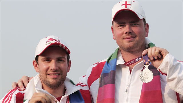 Duncan Busby(l) and Chris White(r)
