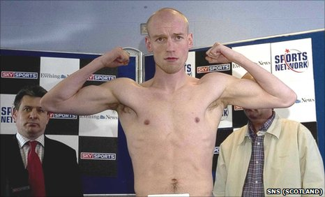 Scottish boxer Craig Docherty