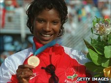 Denise Lewis in 1994