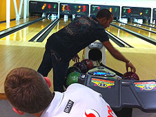 The McLaren bowling party