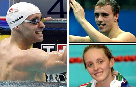 (Clockwise from left) Goddard, Renwick and Halsall provided highlights for the home nations