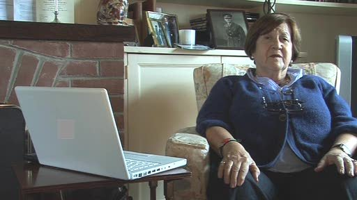 Joanna Strangwayes-Booth, 69, from Norfolk, shares her enthusiams for being online