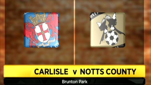 Carlisle 1-0 Notts County