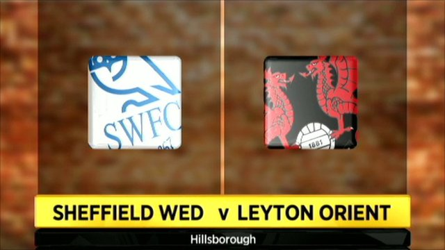 Sheffield Wednesday v Leyton Orient graphic