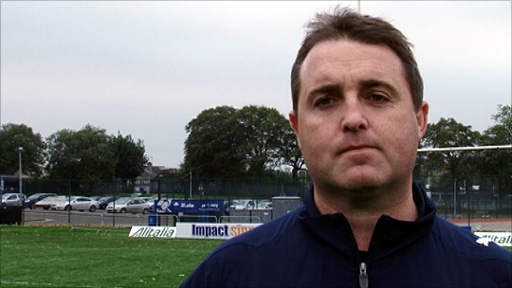 Scotland rugby league coach Steve McCormack