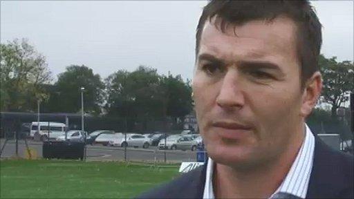 Wales coach Iestyn Harris