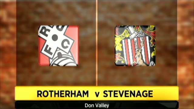 Rotherham v Stevenage graphic