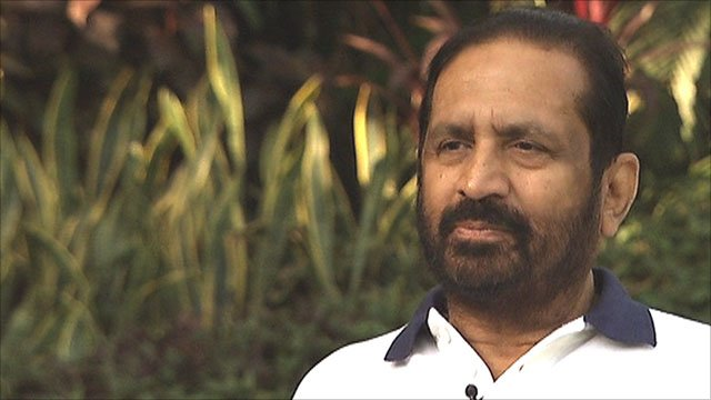 Suresh Kalmadi, chairman of the Organising Committee for the Delhi Commonwealth Games