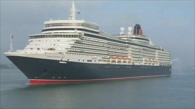 QE cruise ship