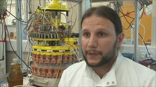 Ioannis Ieropoulos from Bristol Robotics Laboratory