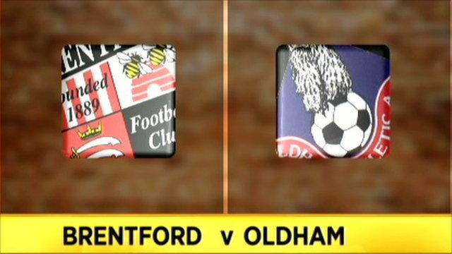 Brentford v Oldham
