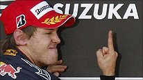 Vettel finger
