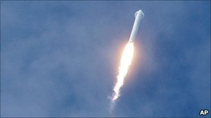 Falcon 9 launch (AP)