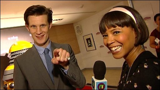 Doctor Who actor Matt Smith talks to our Leah