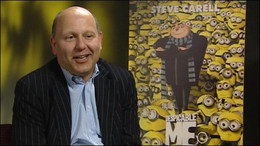 Despicable Me producer Chris Meledandri talks to Sonali