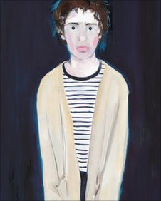 Sally Muir's painting called Adolescent