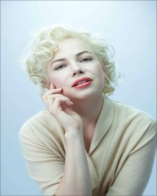Michelle Williams as Marilyn Munroe