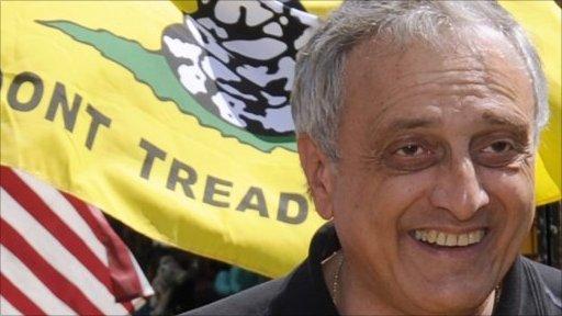 Candidate Carl Paladino