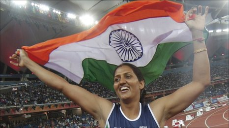 Indian discus thrower Krishna Poonia