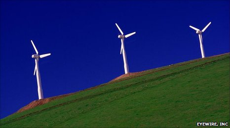 Wind turbines wrong colour for wildlife