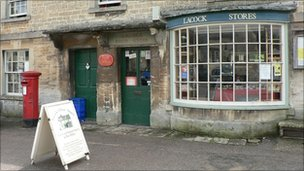 A rural post office and shop