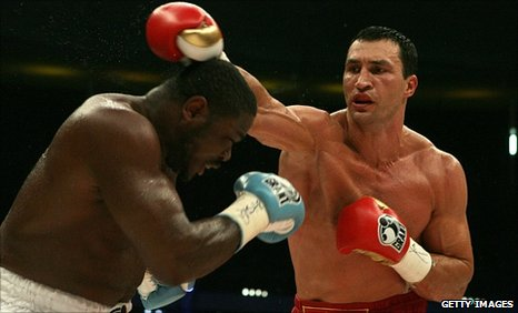 World heavyweight champion Wladimir Klitschko