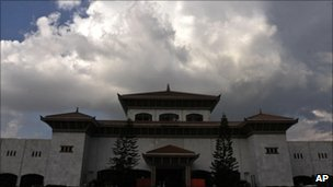 Dark clouds over Nepal's parliament