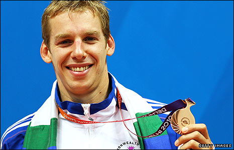 David Carry picked up two medals in Delhi