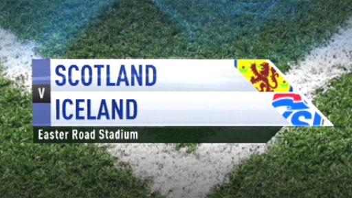 Scotland U21s v Iceland U21s