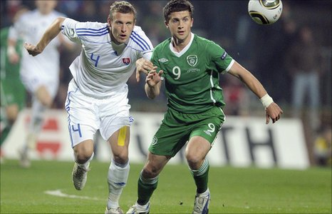 Jan Durica and Shane Long