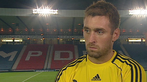 Scotland goalkeeper Allan McGregor