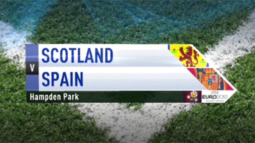 Scotland v Spain