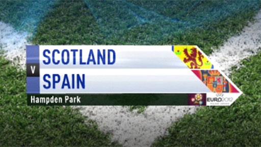 Scotland v Spain