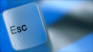 Escape key on keyboard