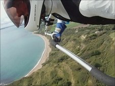 Tony Stephens took up hang gliding 13 years ago