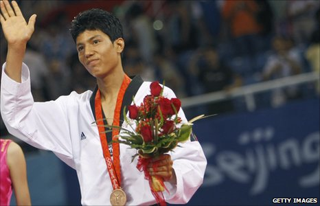 Rohullah with medal