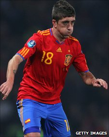 Spain winger Pablo Hernandez